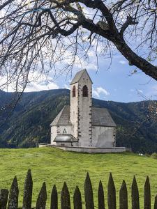 The Church Sankt Jakob, Val de Funes, Italy, South Tyrol, Alto Adige by Martin Zwick