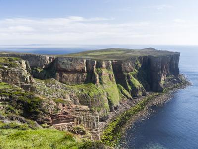 The cliffs of Hoy island, Orkney islands, Scotland. by Martin Zwick