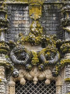 The Manueline Window. Convent of Christ, Tomar, Portugal by Martin Zwick