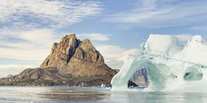 Town on Uummannaq Island. Greenland, Denmark. by Martin Zwick