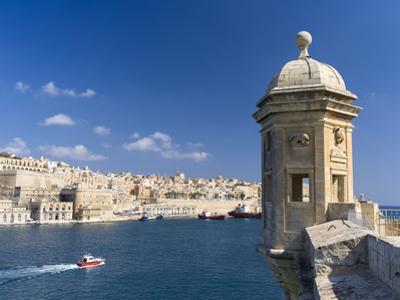 View of Valletta with Grand Harbor Seen from Senglea, Valletta, Malta by Martin Zwick
