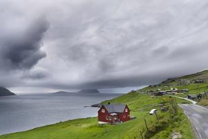 Village Velbastadur, Velbastathur. Denmark, Faroe Islands by Martin Zwick