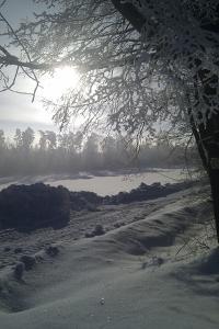 Much Snow in Bavaria by Martina Bleichner