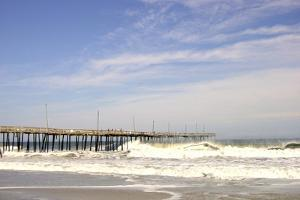 Pier at Nags Head by Martina Bleichner