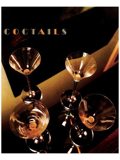 Martini Cocktails II-Richard Sutton-Art Print