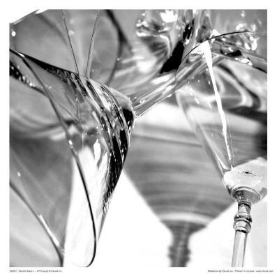 Martini Glasses I-Jean-Fran?ois Dupuis-Art Print