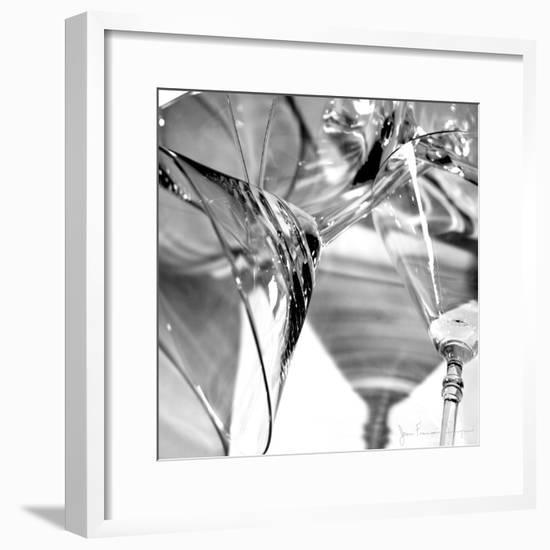 Martini Glasses I-Jean-François Dupuis-Framed Premium Giclee Print