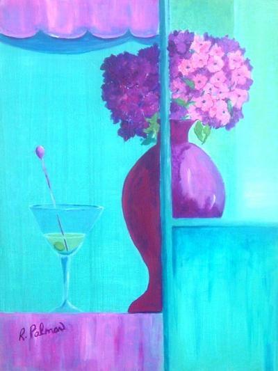Martini Majenta-Ruth Palmer-Art Print