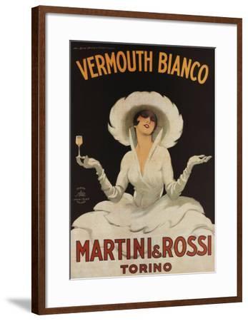 Martini Rossi Vermouth Bianco--Framed Art Print