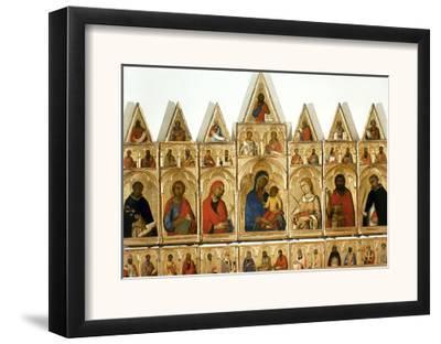 Martini: Statesman, C1315-Simone Martini-Framed Giclee Print
