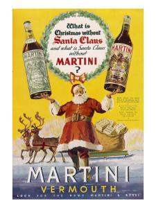 Martini Vermouth - What Is Christmas Without It?
