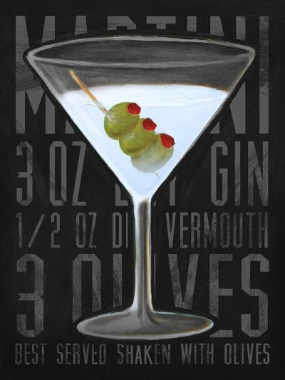 Martini (Vertical)-Cory Steffen-Premium Giclee Print