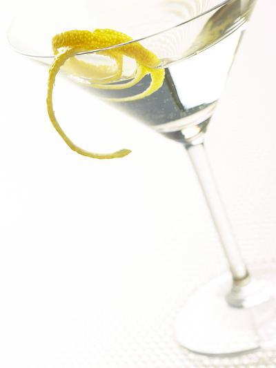 Martini with a Twist--Photographic Print