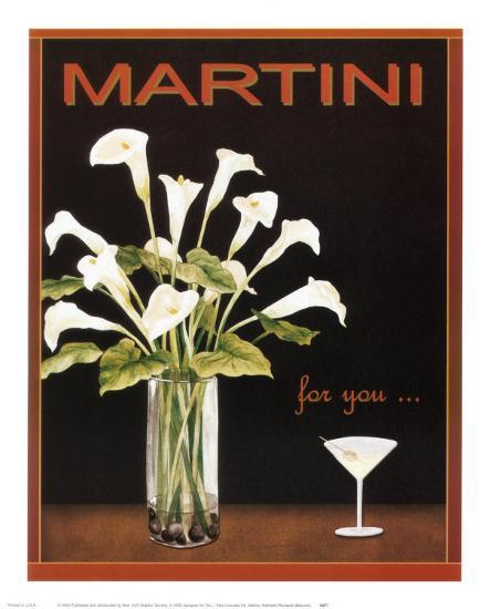 Martini-Kathleen Richards-babcock-Art Print