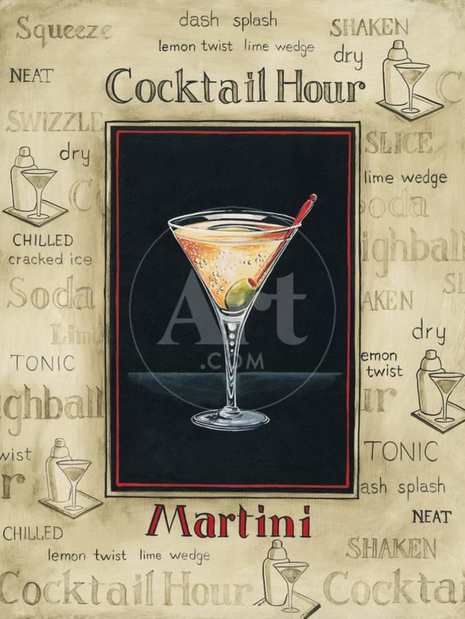 martini premium giclee print by gregory gorham art com