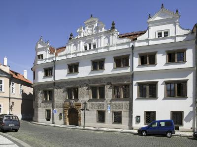 Martinic Palace at Hrad?any, Prague, Czech Republic--Photographic Print