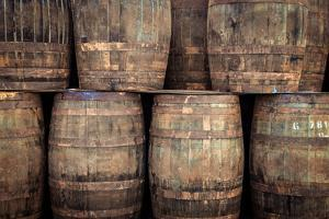 Stacked Old Whisky Barrels by MartinM303