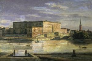 Stockholm, the Royal Palace by Martinus Roerbye