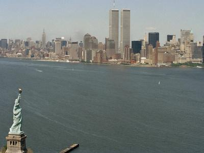 Twin Towers and Liberty 1990