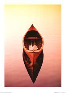Deserted Canoe by Marty Loken