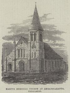 Martyr Memorial Church at Ambatonakanga, Madagascar