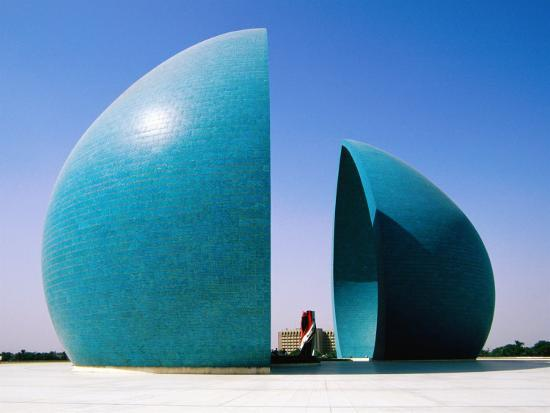 Martyr's Monument to Iraq/Iran War, Baghdad, Iraq-Jane Sweeney-Photographic Print
