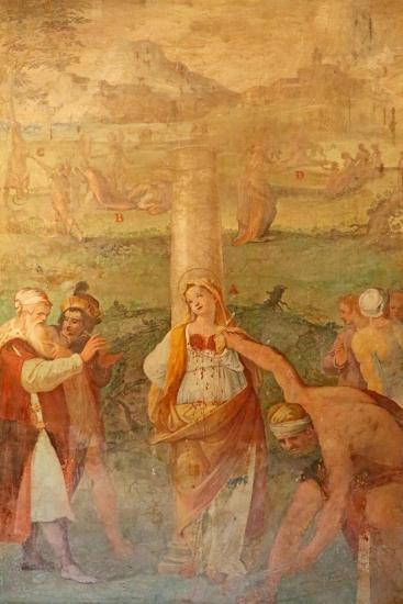 Martyrdom of a Female Saint--Giclee Print