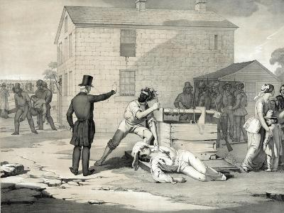 Martyrdom of Joseph and Hyrum Smith in Carthage Jail, June 27th 1844, 1851--Giclee Print