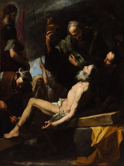 Martyrdom of Saint Andrew-Jos? de Ribera-Giclee Print