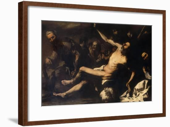 Martyrdom of Saint Bartholomew, Palatine Gallery, Pitti Palace-Jusepe de Ribera-Framed Giclee Print