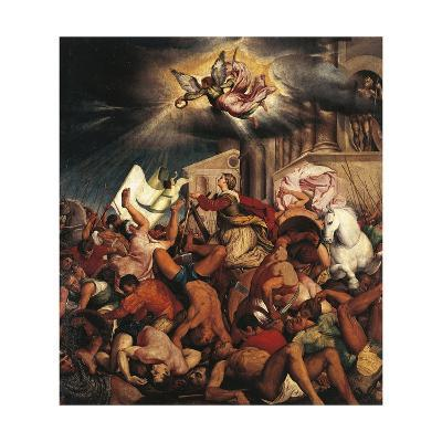 Martyrdom of Saint Catherine-Jacopo Bassano-Giclee Print