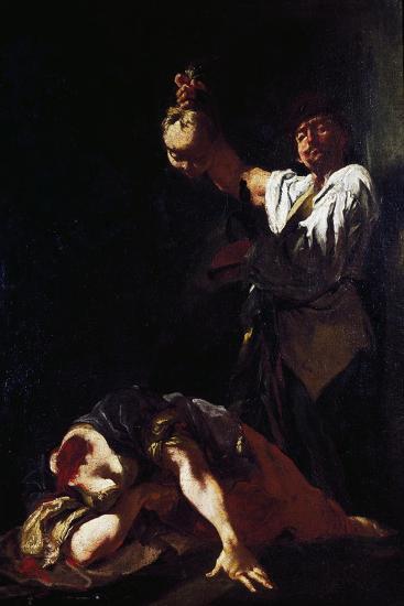 Martyrdom of Saint Eurosia-Giulia Lama-Giclee Print