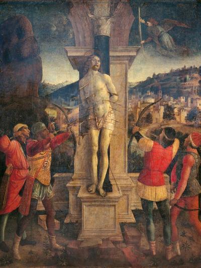 Martyrdom of Saint Sebastian-Vincenzo Foppa-Art Print