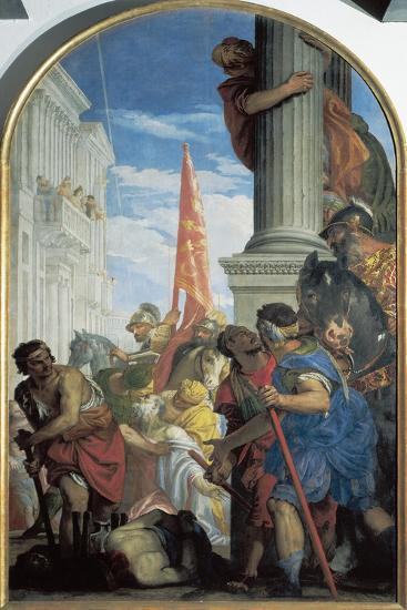 Martyrdom of Saints Primo and Feliciano, 1562-Paolo Caliari-Giclee Print