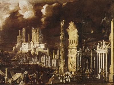 Martyrdom of San Gennaro in Pozzuoli Amphitheater-Didier Barra-Giclee Print