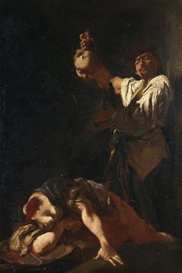 Martyrdom of Sant Eurosia-Giulia Lama-Giclee Print