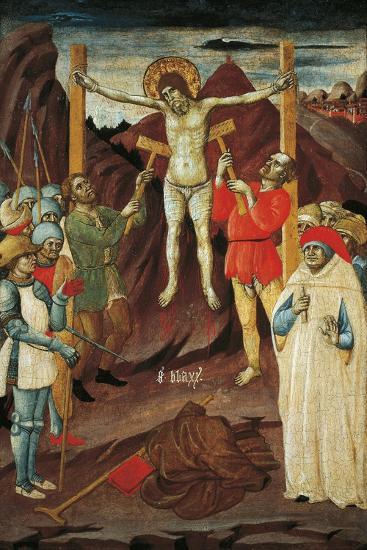 Martyrdom of St Biagio-Giovanni Antonio da Pesaro-Giclee Print