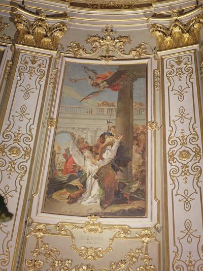 Martyrdom of St. John, Bishop of Bergamo-Giovanni Battista Tiepolo-Photographic Print
