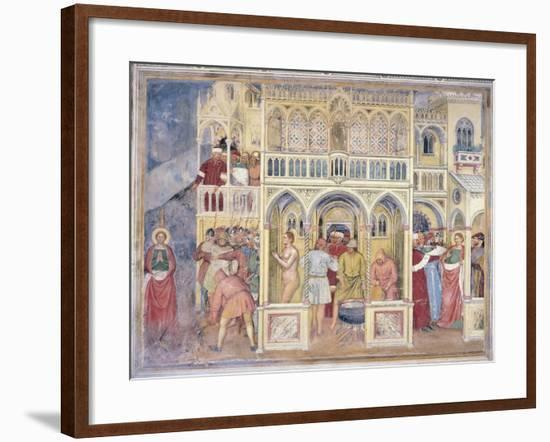 Martyrdom of St Lucia from Syracuse--Framed Giclee Print
