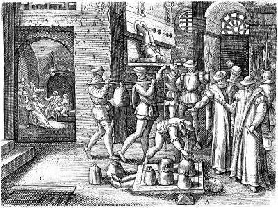 Martyrdom of St. Margaret Clitherow--Giclee Print