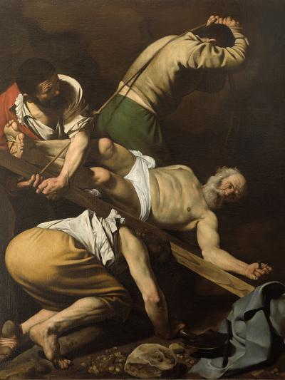 Martyrdom of St Peter-Caravaggio-Giclee Print