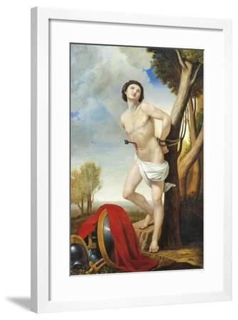 Martyrdom of St Sebastian-Luigi Asioli-Framed Giclee Print