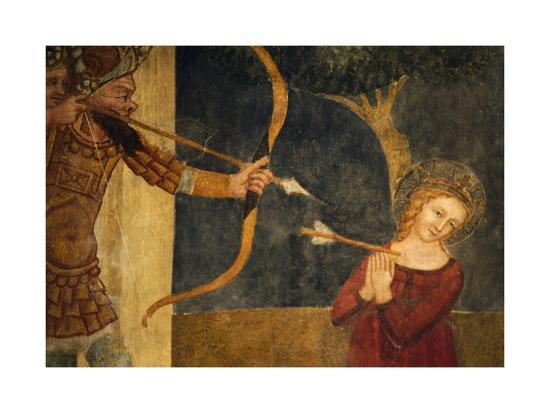 Martyrdom of St Ursula-Ainardo Da Vigo-Giclee Print
