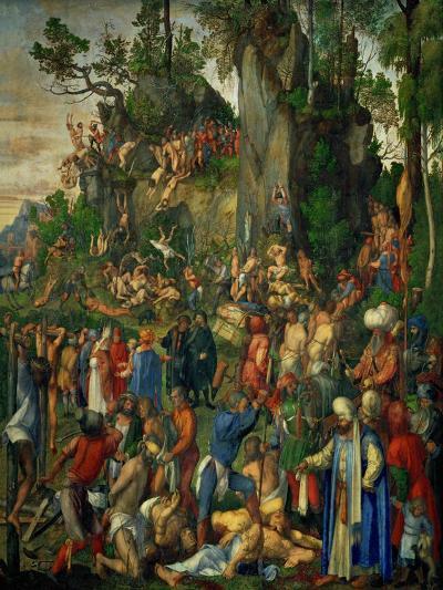 Martyrdom of the Ten Thousand Christians-Albrecht D?rer-Giclee Print