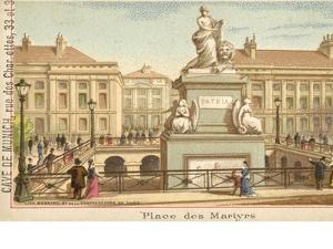 Martyrs' Square, Brussels