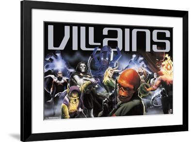 Marvel 80Th - Villains--Framed Poster