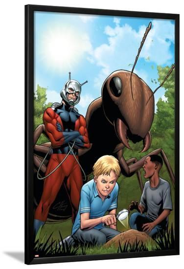 Marvel Adventrues Super Heroes No.10 Cover: Ant-Man-Clayton Henry-Lamina Framed Poster