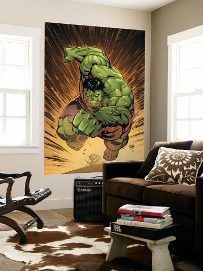 Marvel Adventures Hulk No.14 Cover: Hulk-David Nakayama-Wall Mural