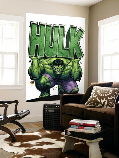 Marvel Adventures Hulk No.4 Cover: Hulk-David Nakayama-Wall Mural