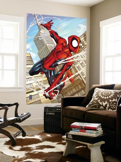 Marvel Adventures Spider-Man No.50 Cover: Spider-Man-Patrick Scherberger-Wall Mural